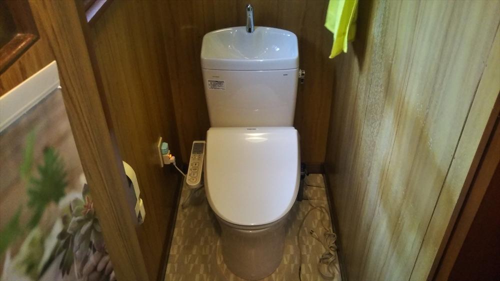トイレ交換後